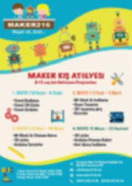 Maker Kış Atölyesi,maker,istanbul,robotik programlama kursu