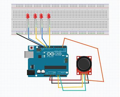 Arduino ile led takip oyunu