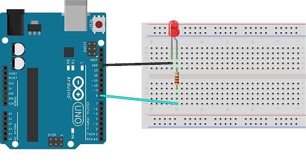 Arduino ile led yakma,Anadolu Yakası,maker,istanbul,robotik programlama kursu