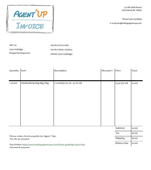Invoice 01-16-16 - 01-16-16