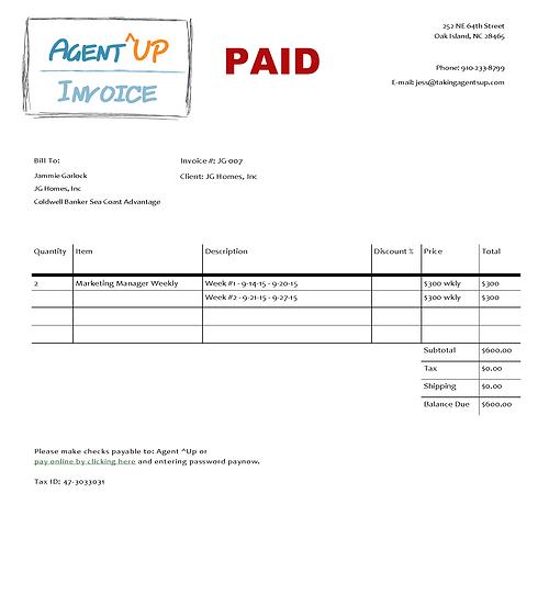 Invoice 9.14 - 9.27.15 (PAID)