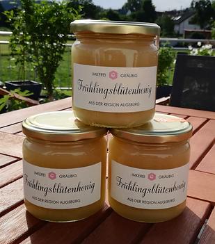 Frühlingsblüten-Honig Imkerei Gräubig