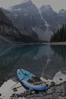 Paddleboarding in Canada