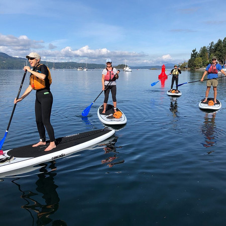 A Beginners Guide To Stand Up Paddleboarding