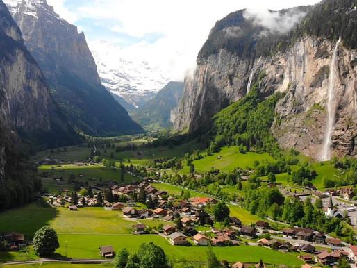 Lauterbrunnen - The valley of the waterfalls