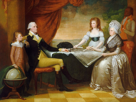 The Courtship and Marriage of George Washington and Martha Custis