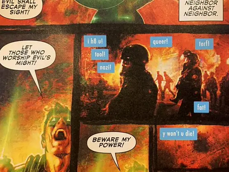 The Term TERF Appears in DC Comics for the Very First Time