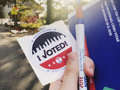 Guest Post: First Time Voting for President