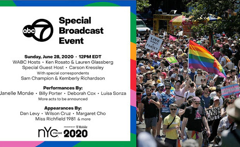 Virtually Celebrate the 5st Anniversary of Stonewall With WABC