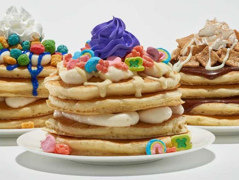 IHOP Releases Cereal Pancakes