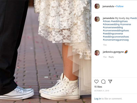 A More Comforting Fit: Converse Releases Wedding Shoe Collection