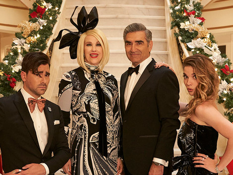 Schitt's Creek All I Want For Christmas Rendition Is a Hit