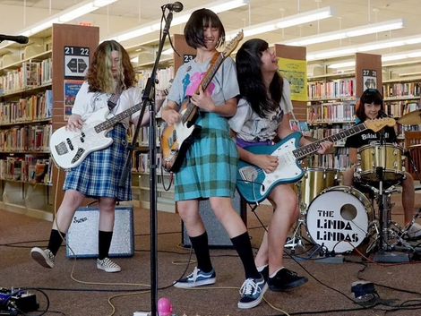 Girl Punk Band Linda, Lindas Gets Record Contract After Viral Library Show