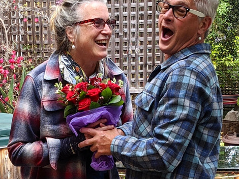 Sex Positive Feminist Susie Bright Marries Partner of 32 years