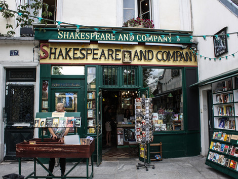 The Famous Paris Bookstore Shakespeare and Company Finds Way to Stay Alive