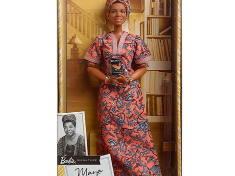 Maya Angelou Barbie for Black History Month
