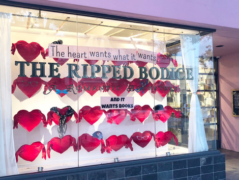 The First Annual Ripped Bodice Romance Excellence in Romance Awards