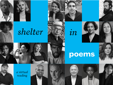 Shelter in Poems: A Virtual Reading to End National Poetry Month on April 30