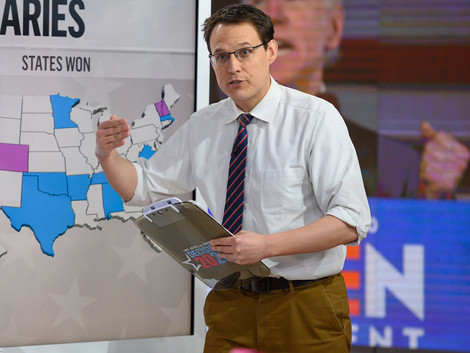 Steve Kornacki: 'Map Daddy' of the 2020 Election