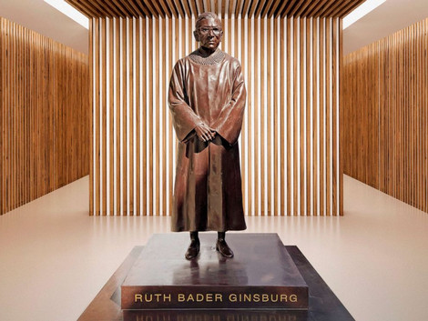 RBG Statue To Be Unveiled in New York City