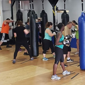 Boxing level 1 class