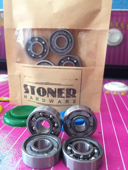 "Stoner Hardware Bearings, ""No Shields"", ABEC420"