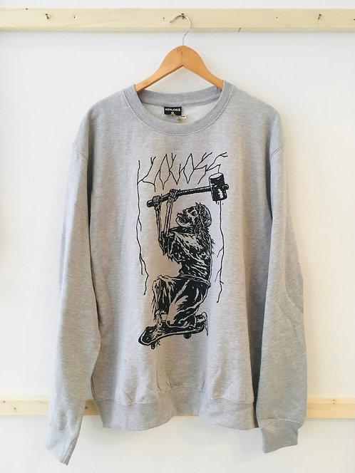 """Koloss """"Skelett"""" Sweater XL"""