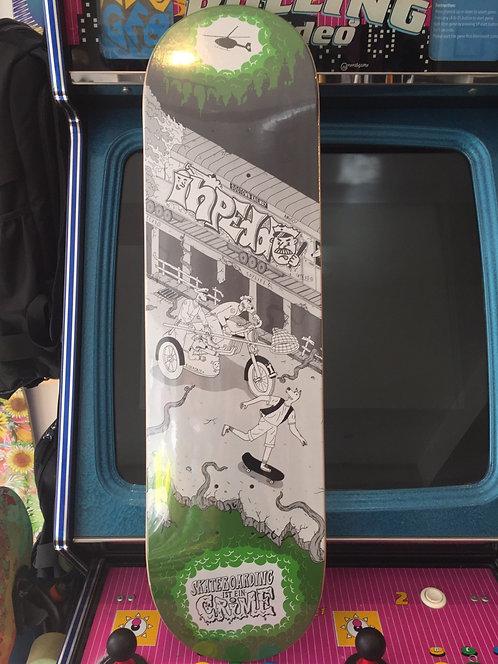 "Inpeddo Skateboards ""Riotforce"", 8,375"""