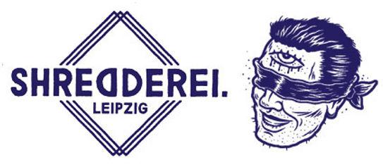 Shred head mit Schrift produktpage Kopie