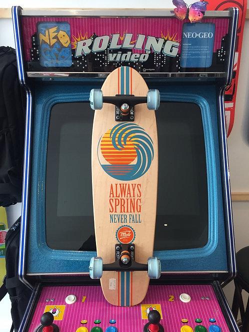 """Mob-Skateboards """"Always Spring"""" Cruiser Complete 8,0"""""""
