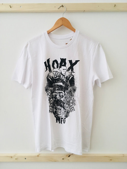 "Hoax ""Corporate Corruption"" T-Shirt M"
