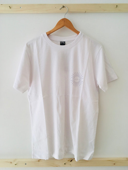 """Beyond """"Sun"""" T-Shirt weiß - L"""