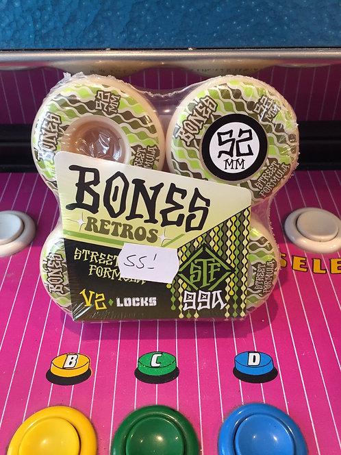 """Bones """"Retros"""" V2 52mm 99A"""
