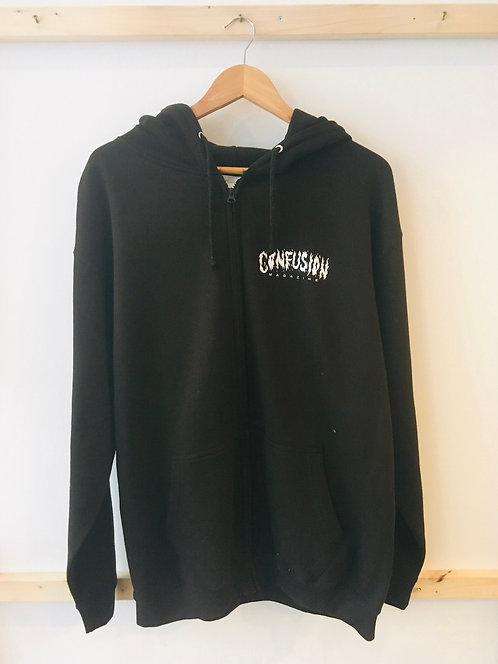 Confusion Zipped Hoddie XL