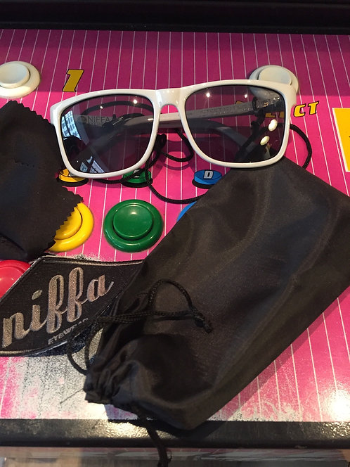 "Niffa Eyewear ""Jetset Jellhead"" up in smoke, grey / midnight"