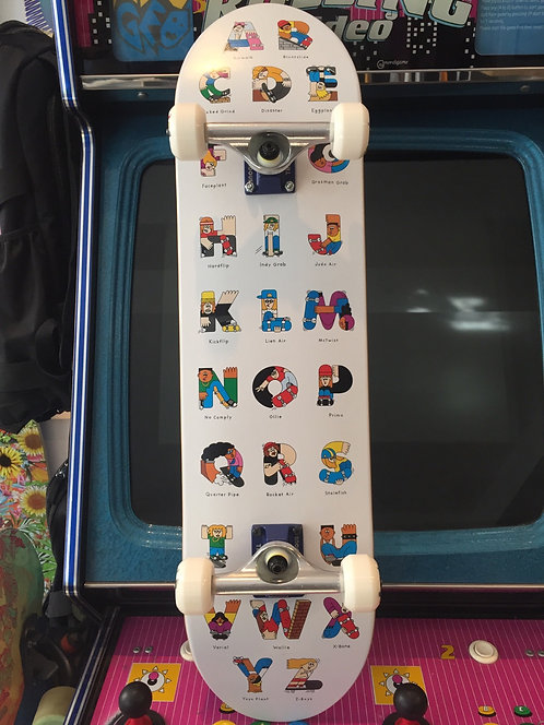"""Inpeddo Skateboards X The Dudes Complete, 8"""""""