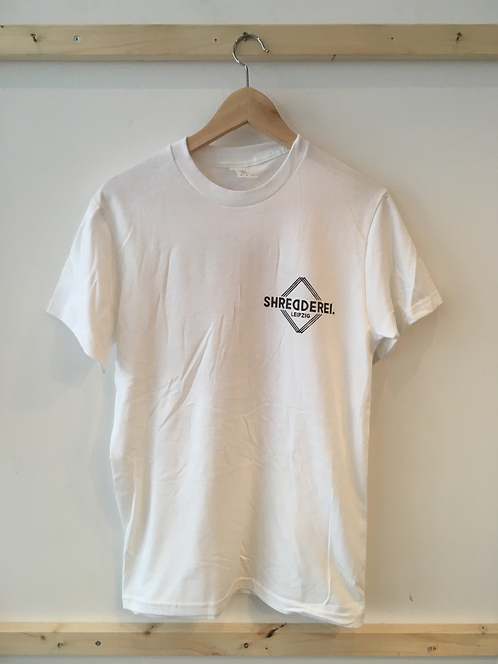 "T-Shirt ""Shredderei X Carlo Vivary"" weiß"