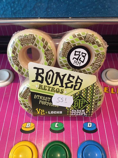 """Bones """"Retros"""" V2 53mm 99A"""