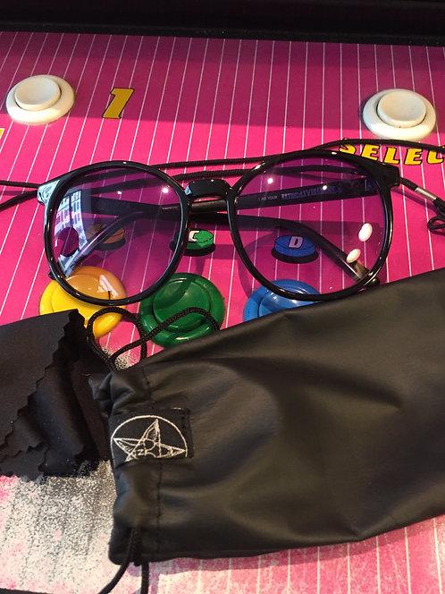 "Niffa Eyewear ""Seven Day Weekender"", black / dirty Sprite,"