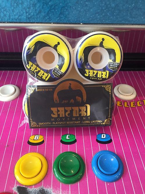 """Satori Wheels """"Elefant"""" 54mm 84B"""