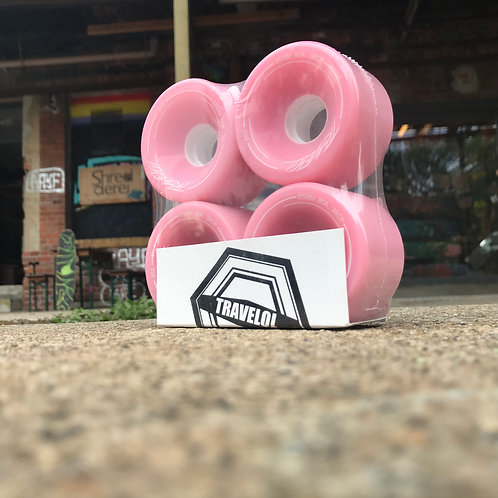 Travelol Wheels 65mm different Colors/Durometer