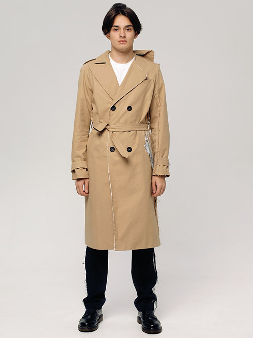 MALE DECONSTRUCTED TRENCH COAT