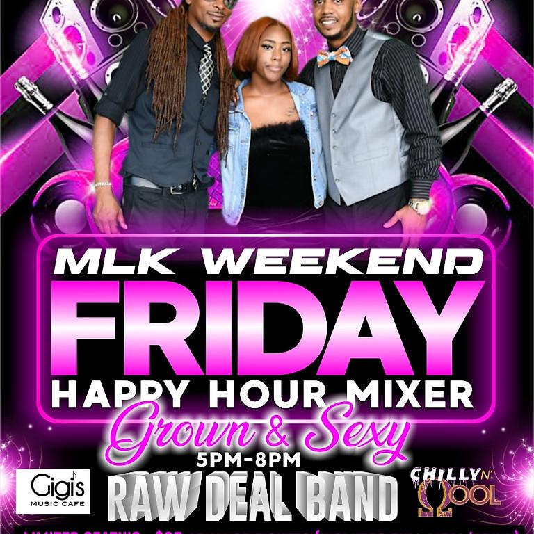 MLK Weekend Happy Hour Mixer