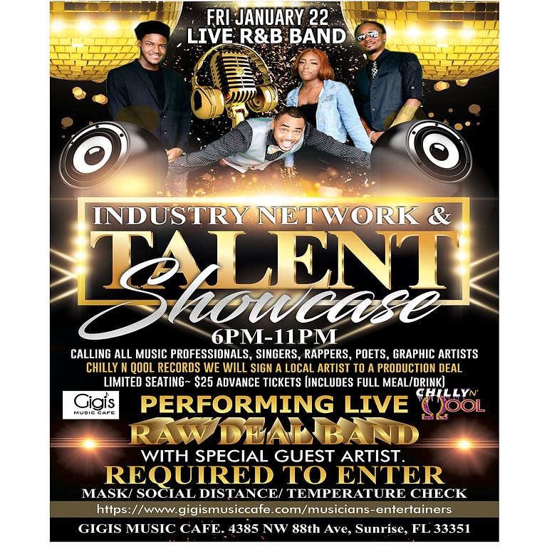 Industry Network & Talent Showcase