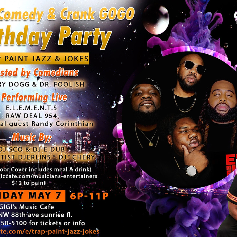 Jon Q's Comedy & Crank Gogo Birthday Party
