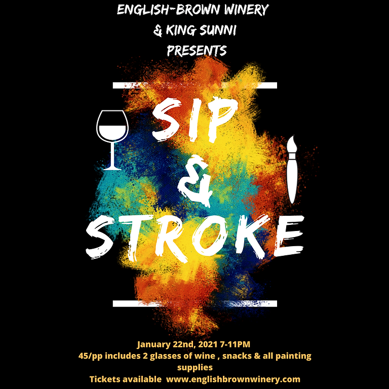 The Sip & Stroke at English-Brown Winery