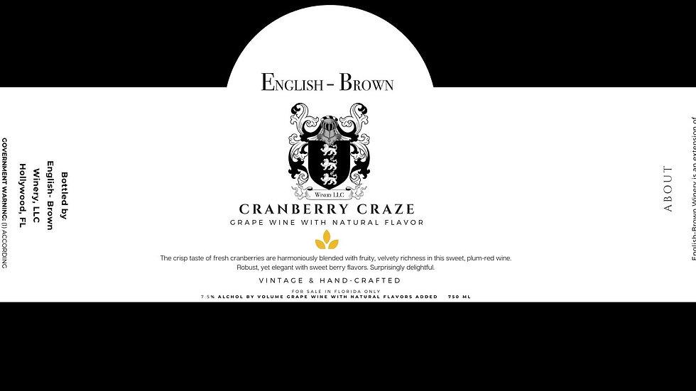 Cranberry Craze