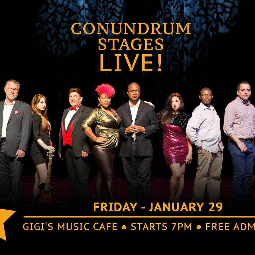 Conundrum Stages Live