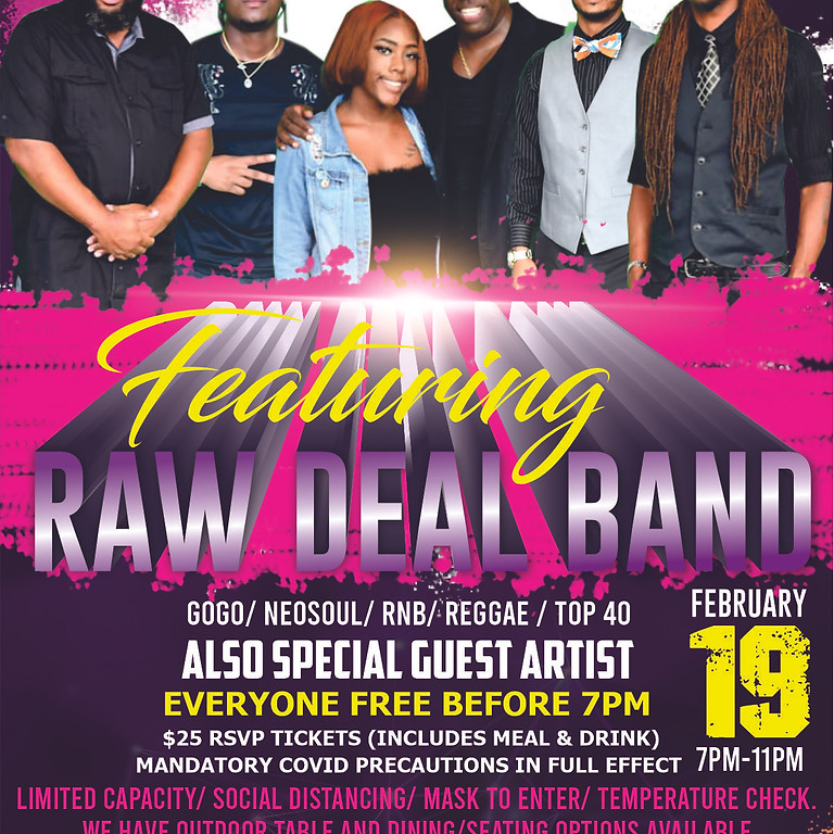 Karaoke - Featuring Raw Deal Band