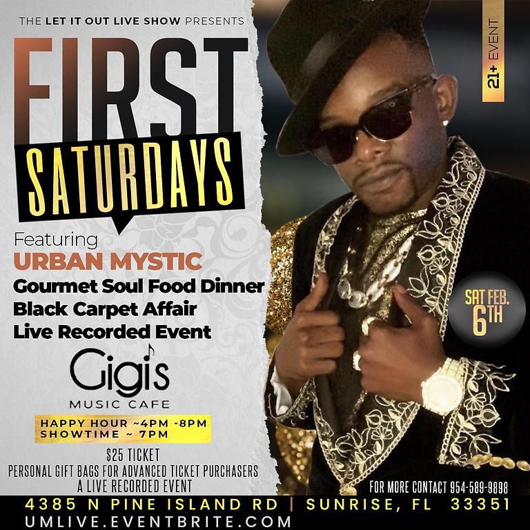 First Saturdays - Feature Urban Mystic